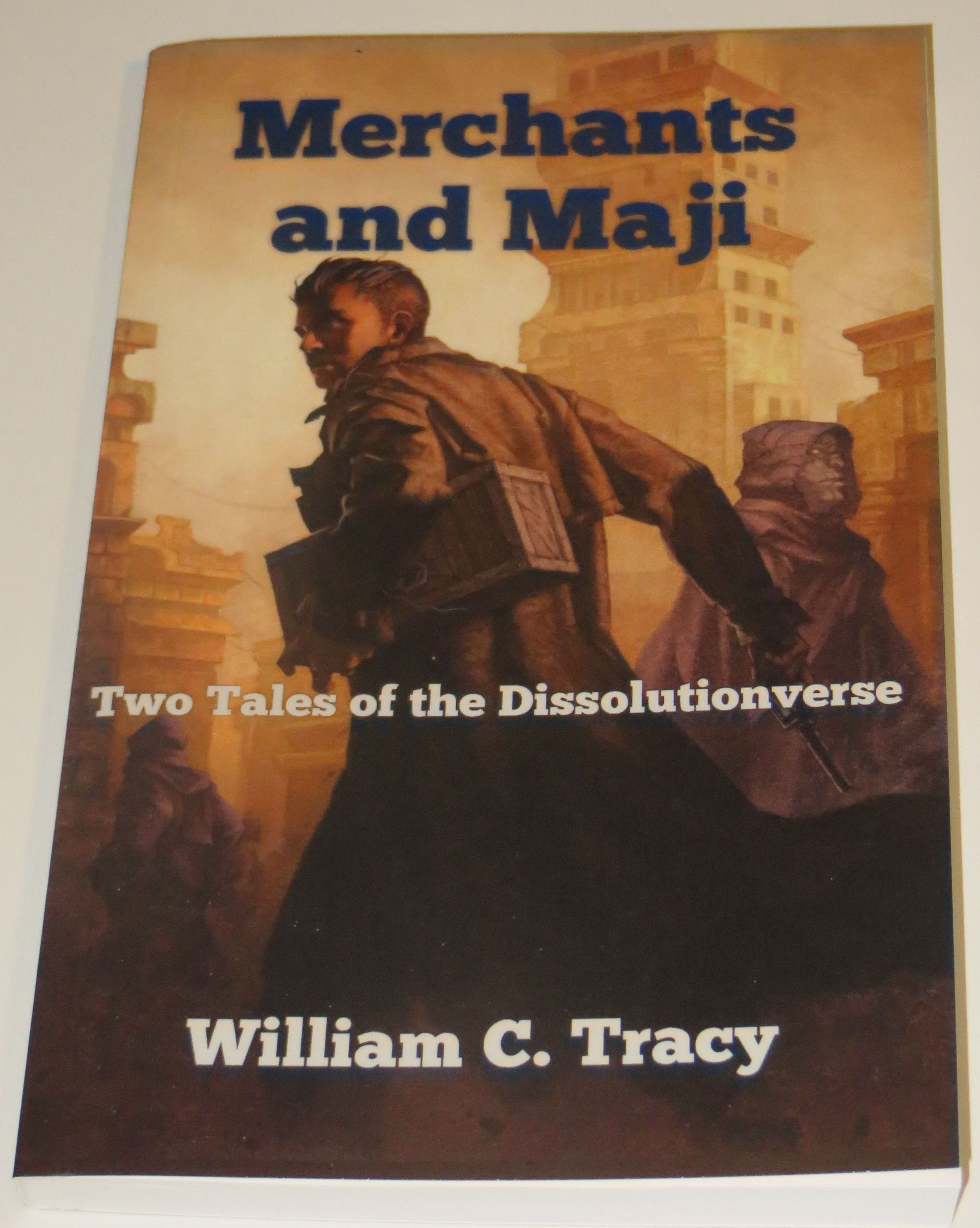 Merchants and Maji - ebook cover